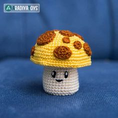 Sun-shroom - Plants Vs. Zombies Amigurumi Pattern (FREE)