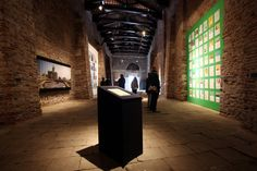 Edge of Arabia Rhizoma exhibition at The 2013 Venice Biennale. ©Alex Maguire Photography
