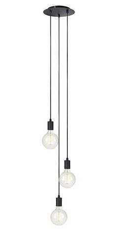Lampa wisząca z serii SKY w kolorze czarnym będzie dobrze wyglądała w Twoim salonie. #mlamp #oświetlenie #lampa #zwis #design #loft #wystrój #wnętrz