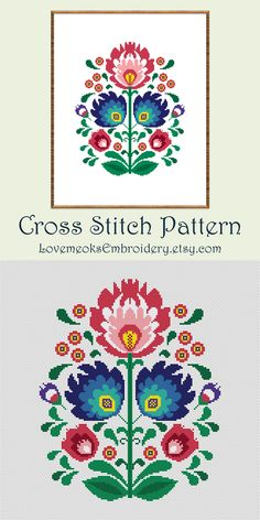 Thrilling Designing Your Own Cross Stitch Embroidery Patterns Ideas. Exhilarating Designing Your Own Cross Stitch Embroidery Patterns Ideas. Folk Embroidery, Cross Stitch Embroidery, Embroidery Patterns, Simple Embroidery, Ribbon Embroidery, Modern Cross Stitch Patterns, Counted Cross Stitch Patterns, Hama Bead, Embroidery Techniques