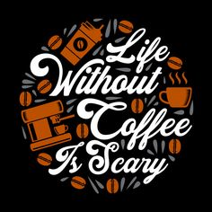 Funny Coffee Quote and Saying. 100 vector best for graphic in your goods , Coffee Slogans, Coffee Logo, Coffee Poster, Coffee Humor, Funny Coffee, Coffee Cafe, Iced Coffee, Coffee Is Life, I Love Coffee