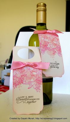 great way to make wine tags