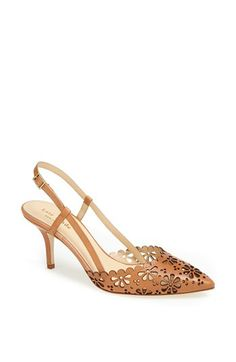 super feminine pumps to pair with a sundress at an outdoor wedding // from @Nordstrom