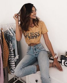 92 trendy summer outfits we are loving this sunny season 49 Tumblr Outfits, Mode Outfits, Fall Outfits, Casual Outfits, Dinner Outfits, Kpop Outfits, Skirt Outfits, Casual Shoes, Teen Fashion