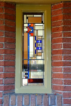 Glas in lood Lonbar Petrilaan 18 te Overveen