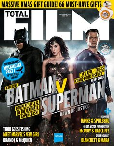 #TOTALFILM Magazine 249. #Batman V #Superman! #TheHungerGames. #Netflix and chill with #Marvel's superhero-turned. On set: Victor #Frankenstein, #McAvoy and #Radcliffe