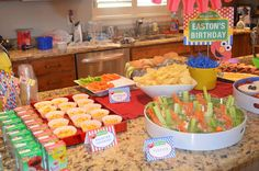 Sesame Street, Elmo Birthday Party Ideas | Photo 9 of 29 | Catch My Party