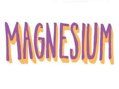 Magnesium - Soorten verbindingen in supplementen
