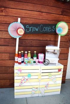 Snow Cone Summer Party Ideas   Photo 1 of 33   Catch My Party