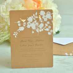 Shop Invitations Wedding Invitation Templates Brown Make Your Own