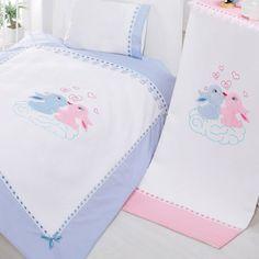 Sunny Funny Mutlu Çiftler Mavi Bebek Pike Takımı