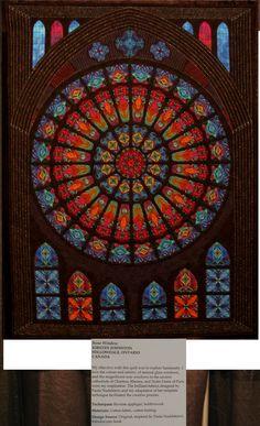 rose-window quilt -- someday!