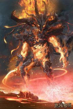 Fire Elemental Magma