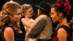 The18 Best TVSeries According toAudiences But Not Movie Critics Maeve Westworld, Westworld Hbo, Westworld 2016, Radiohead No Surprises, Westworld Tv Series, Episode Guide, Netflix, Westworld Costume, Great Tv Shows
