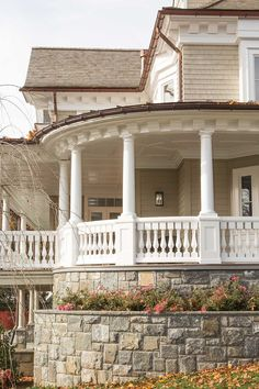 Wrap around porch