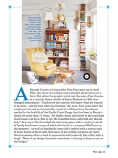 I saw this in the Jul/Aug 2016 issue of @countryliving.   http://bit.ly/1izmcxL
