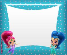 Shimmer And Shine Decorations, Shimmer Y Shine, Matilda, Birthday Parties, Disney Characters, Fictional Characters, Projects To Try, Birthdays, Kawaii