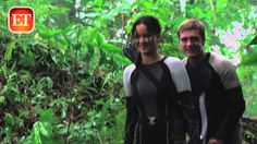 Full Segment from Catching Fire DVD/Bluray Outtakes with Jennifer & Josh on Entertainment Tonight