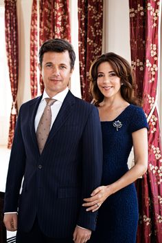 HRH Crown Prince Frederick and HRH Crown Princess Mary of Denmark Photo © Franne Voigt