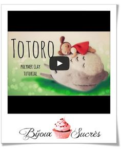 Totoro fimo tutorial video