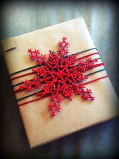 Top any gift with a keepsake - ornament, brooch, bracelet, etc
