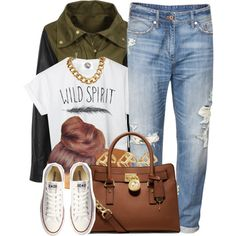 Wild Spirit by oh-aurora on Polyvore featuring polyvore, fashion, style, CC…