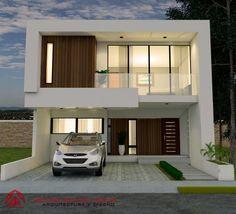 34 popular contemporary home design exterior 32 Related Modern Exterior House Designs, Best Modern House Design, Design Exterior, Bungalow House Design, House Front Design, Facade Design, Modern House Plans, Architecture Design, Simple Home Design