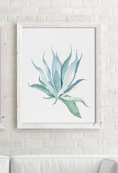 Watercolor Aloe Vera Set of 2 Prints, Watercolor Painting, Leaves Drawing, Plant Illustration, Green Blue Minimalist Wall Art, Aloes, Tree, Succulents, Modern Wall Decor, Summer Wall Art Important information for all prints: 1. The prices can be found over on the right in the