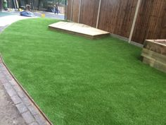 Synthetic Grass Playground in Sandpits 10