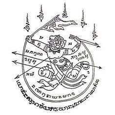 Das berühmte Sak Yant Tattoo ist in Thailand eines der beliebtesten Tattoomotive und auch bei uns Touristen zunehmend beliebter. Was es mit den magischen