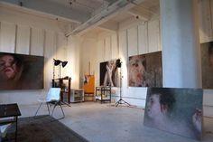 Alyssa's Brooklyn Artist Studio Workspace Tour | Apartment Therapy