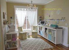 Craft Room on a  budget