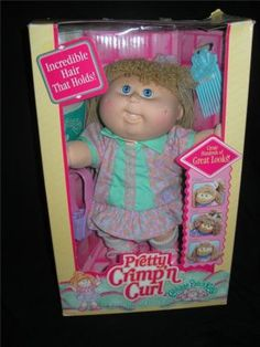 Cabbage Patch Crimp 'n Curl