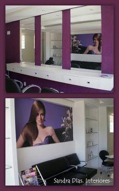 Projeto salão de beleza em Brasília