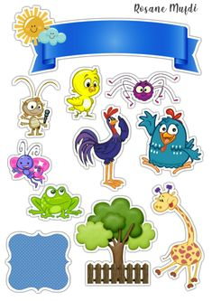Peppa Pig Stickers, Polymer Clay Crafts, Baby Shark, Miraculous Ladybug, Cake Toppers, Badge, Crafts For Kids, Scrapbook, Disney Characters