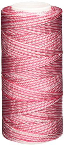 Iris Nylon Crochet Thread 275Yard Pinks Print *** You can get more details by clicking on the image. This Amazon pins is an affiliate link to Amazon.