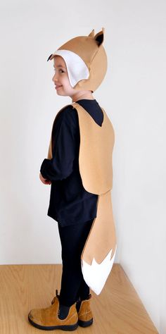 Couture de masque de renard motif bricolage par ImaginaryTail