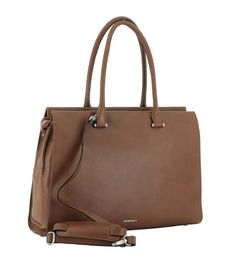 Doppelgrifftasche Business GiGi Fratelli Brandy Leder Bags, Laptop Tote, Leather Cord, Hook And Loop Fastener, Nice Asses, Handbags, Bag, Totes, Hand Bags