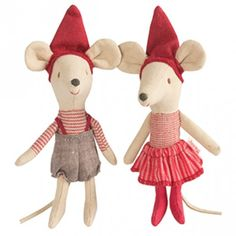 Milena - Pixy big brother & sister Mouse - Maileg Dk