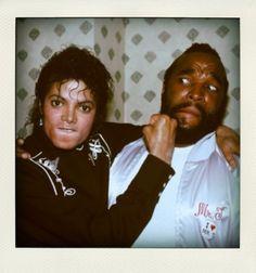 Michael Jackson & Mister T