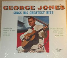 George Jones Sings His Greatest Hits Sealed Vinyl Country Record Album by RASVINYL on Etsy