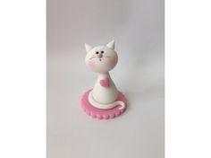 Baby Cat Fondant #Cake