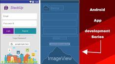 Android app development tutorial #12(Registration task-1)