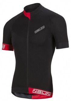 Nalini Curva TI Black Jersey made by Nalini in Italy. Premium Cycling Shirt.  Professional 5b1b78909