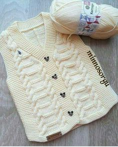 Creative Contents about DIY & Crafts, Knitting, Hairstyles, Beauty and more - Diy Crafts Diy Crafts 818951513466486771 Pi. Ladies Cardigan Knitting Patterns, Baby Boy Knitting Patterns, Baby Patterns, Baby Cardigan, Baby Poncho, Knitting Wool, Knitting Stitches, Knitting Designs, Knit Baby Sweaters