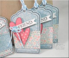 The Scalloped Edge: More Verve Tags........