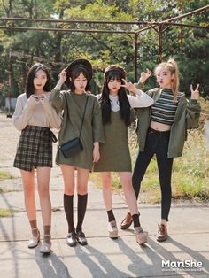 Korean Fashion Trends, Korean Street Fashion, Korea Fashion, Kpop Fashion, Cute Fashion, Asian Fashion, Girl Fashion, Womens Fashion, Tokyo Fashion