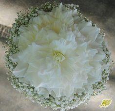 ramo de novia rosmelia blanco  white bridal bouquet
