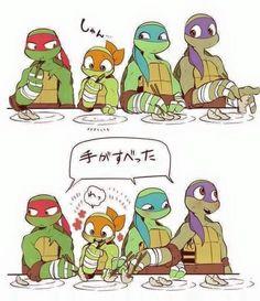 Traducciones de comics TMNT 2012 - Death and a Gosh Tmnt 2012, Ninja Turtles Art, Teenage Mutant Ninja Turtles, Teenage Turtles, Spideypool, Fantasma Danny, Tmnt Mikey, Tmnt Girls, Tmnt Comics