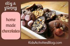 {Kid-Made} Chocolate Factory - Kids Activities Blog